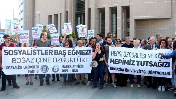 Tutuklu Boğaziçi öğrencilerinin davası başladı - Sputnik Türkiye