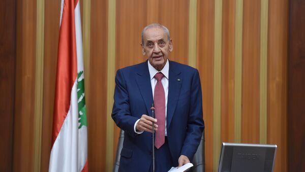 Lübnan Meclis Başkanı Nebih Berri - Sputnik Türkiye