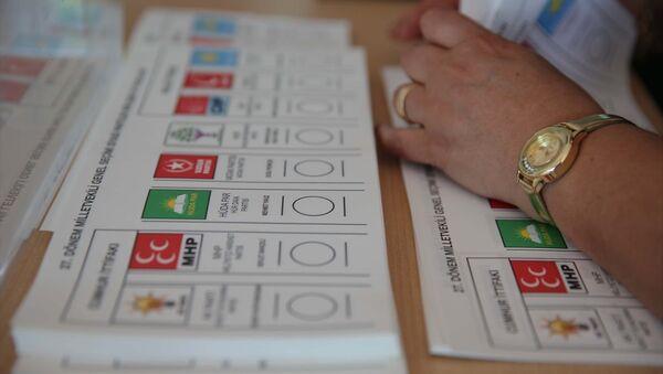 24 Haziran, seçim, sandık - Sputnik Türkiye