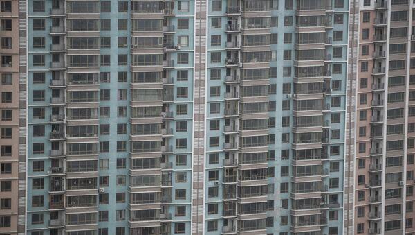 Çin'de binalar - Sputnik Türkiye