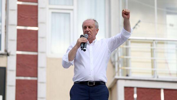 İnce: Erdoğan beyaz Türk, ben zenci - Sputnik Türkiye