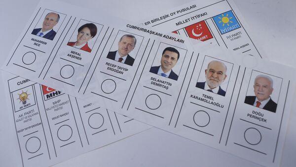 Cumhurbaşkanı adayları, 24 Haziran - Sputnik Türkiye