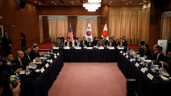 ABD- Güney Kore- Japonya - Sputnik Türkiye