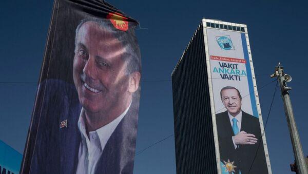 İnce - Erdoğan - Sputnik Türkiye
