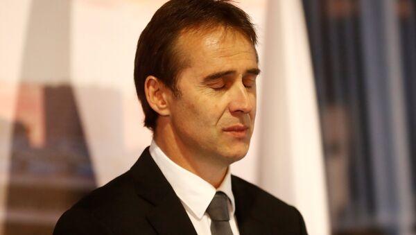 Real Madrid'in yeni teknik direktörü Julen Lopetegui - Sputnik Türkiye
