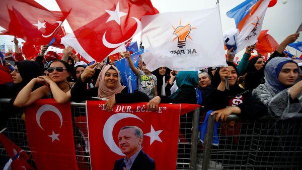 AK Parti, seçmen, 24 Haziran - Sputnik Türkiye