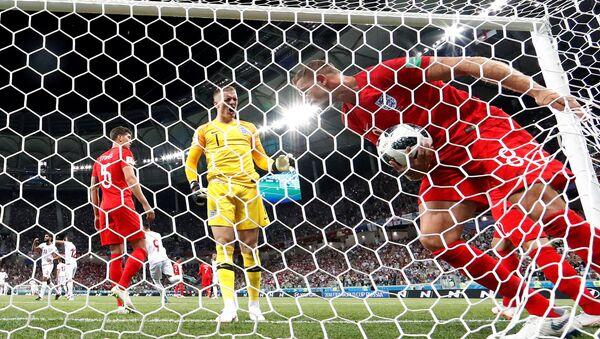 2018 Dünya Kupası G grubu ilk maçında İngiltere, Tunus'u 2-1 mağlup etti. - Sputnik Türkiye