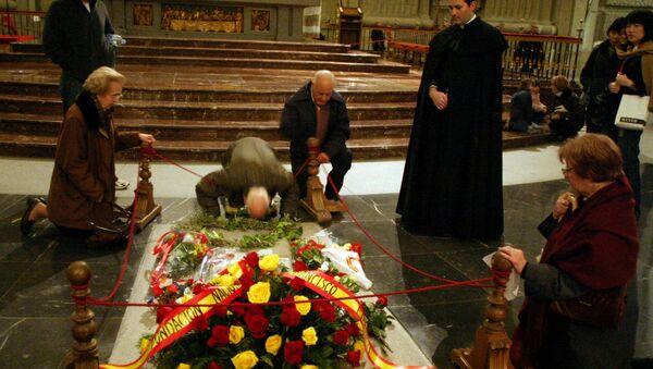 Diktatör Francisco Franco'nun anıt mezarı - Sputnik Türkiye