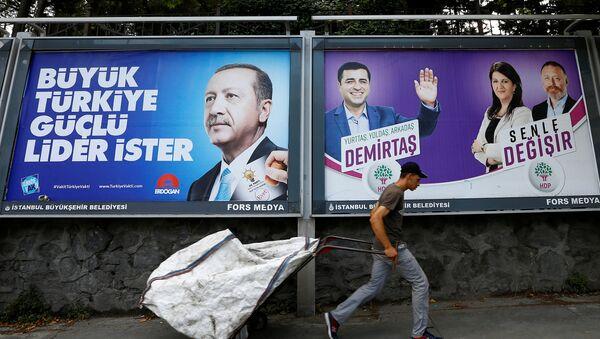 AK Parti - HDP - 24 Haziran - Sputnik Türkiye