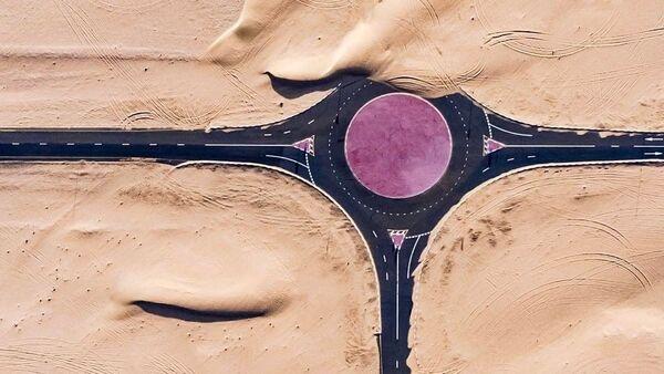 BAE'de drone ile çekilen çarpıcı fotoğraflar - Sputnik Türkiye