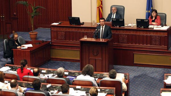Makedonya Başbakanı Zoran Zaev - Sputnik Türkiye