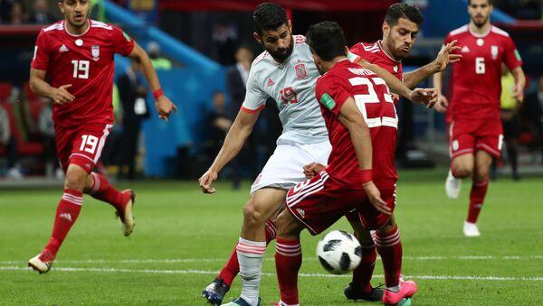Dünya Kupası'nda İspanya, İran karşısında - Sputnik Türkiye