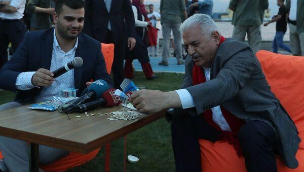 Başbakan Binali Yıldırım İzmir'de - Sputnik Türkiye