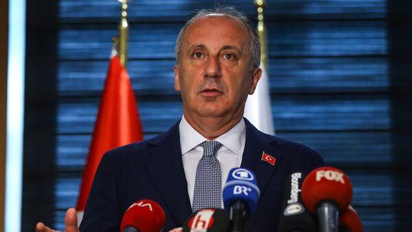 Muharrem İnce, TÜSİAD - Sputnik Türkiye