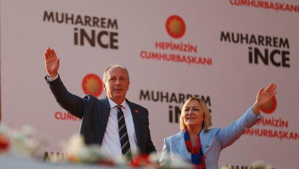 CHP'nin cumhurbaşkanı adayı Muharrem İnce - Sputnik Türkiye