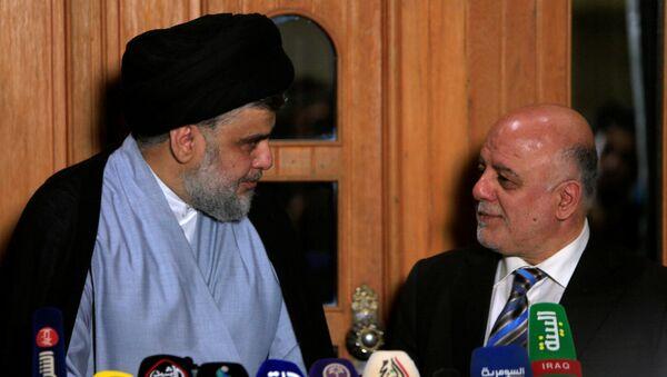 Mukteda es Sadr ve Haydar İbadi Irak'ta yeni hükümet için anlaştı - Sputnik Türkiye