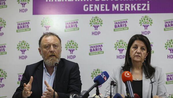 HDP Eş Genel Başkanları Pervin Buldan (sağda) ve Sezai Temelli (solda) - Sputnik Türkiye