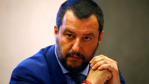 İtalya İçişleri Bakanı Matteo Salvini - Sputnik Türkiye