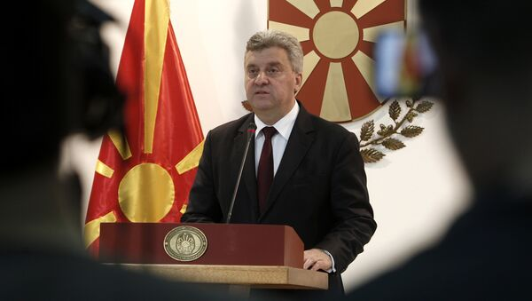 Makedonya Cumhurbaşkanı Gyorge İvanov - Sputnik Türkiye
