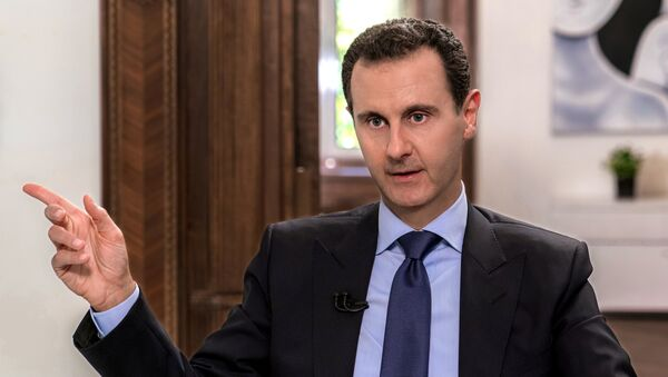 Suriye Devlet Başkanı Beşar Esad, Rus NTV televizyonuna röportaj verdi - Sputnik Türkiye