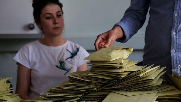 24 Haziran, oy, seçim - Sputnik Türkiye