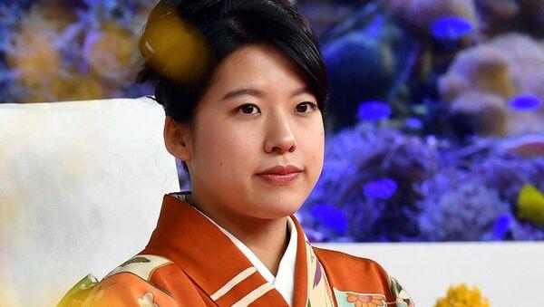Japon İmparatoru Akihito'nun kuzeni Prens Takamodo'nun üçüncü ve en küçük kızı Prenses Ayako - Sputnik Türkiye