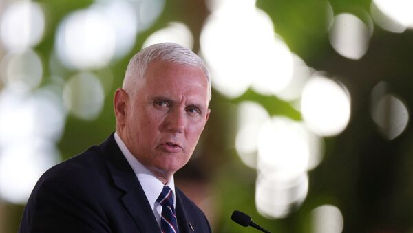 ABD Başkan Yardımcısı Mike Pence - Sputnik Türkiye