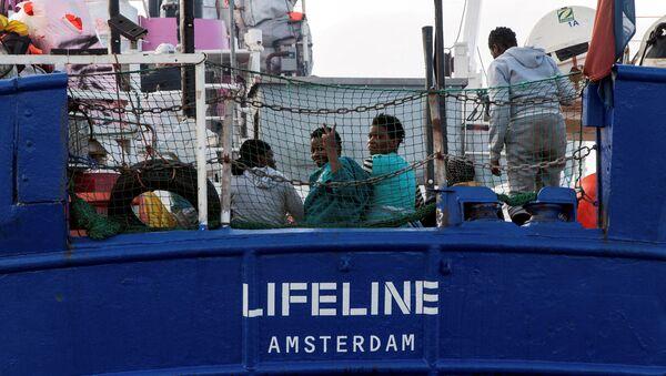 Lifeline gemisi - Sputnik Türkiye