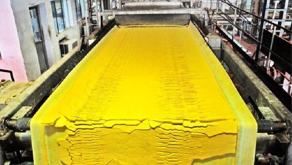 uranyum-sarı pasta - Sputnik Türkiye