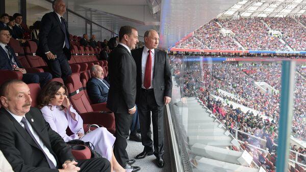 Putin ve futbol - Sputnik Türkiye