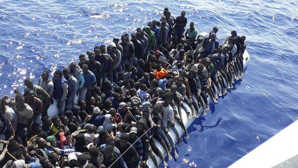 Libya-Göçmenler - Sputnik Türkiye