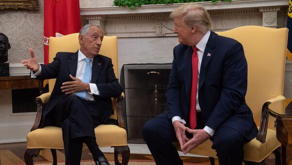 Trump ve Sousa - Sputnik Türkiye