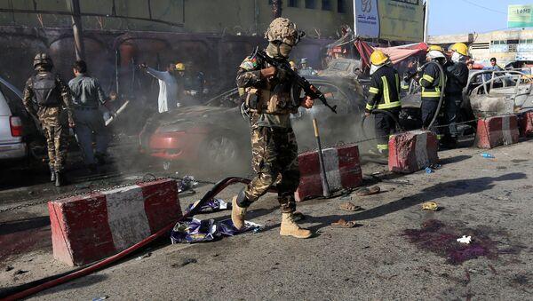 Afganistan'ın Celalabad kentinde bombalı saldırı - Sputnik Türkiye