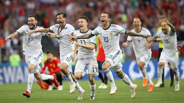 Rusya penaltılarla çeyrek finale yükseldi, İspanya elendi - Sputnik Türkiye