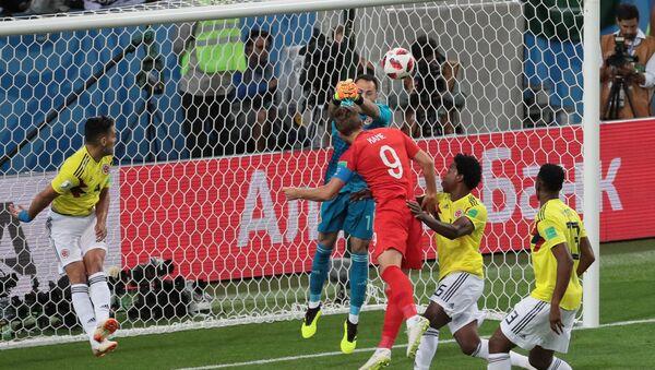 FIFA World Cup 2018, Round of 16, Colombia - England, July 3, Spartak Otkritie Arena in Moscow - Sputnik Türkiye