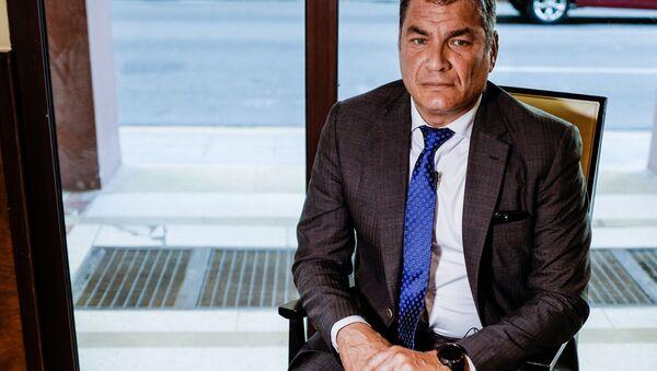 Rafael Correa - Sputnik Türkiye