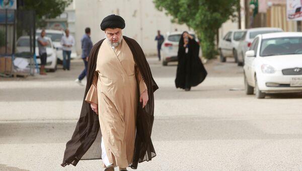Iraklı Şii lideri Mukteda es Sadr - Sputnik Türkiye