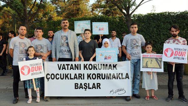 BBP'liler, çocuk istismarını protesto etmek için Tuzla'dan Ankara'ya yürüyecek - Sputnik Türkiye