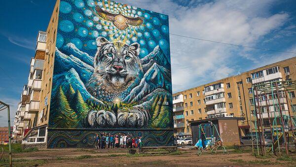 Astana'da sokak sanatı - Sputnik Türkiye