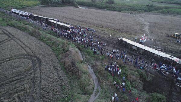 Çorlu'daki tren kazası - Sputnik Türkiye
