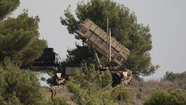 İsrail'de Amerikan Patriot'u - Sputnik Türkiye