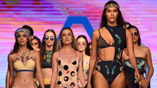 Sri Lanka'da plaj moda haftası - Sputnik Türkiye