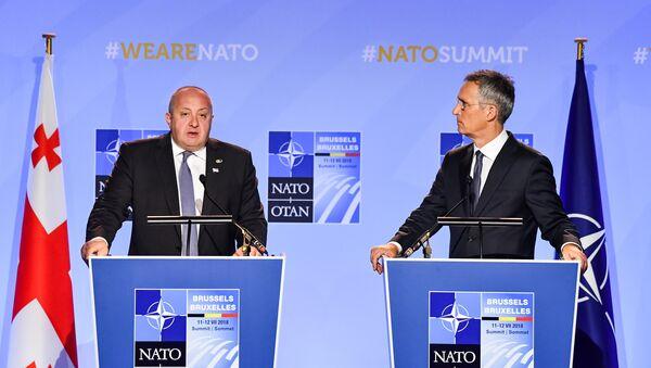 NATO- Gürcistan - Sputnik Türkiye