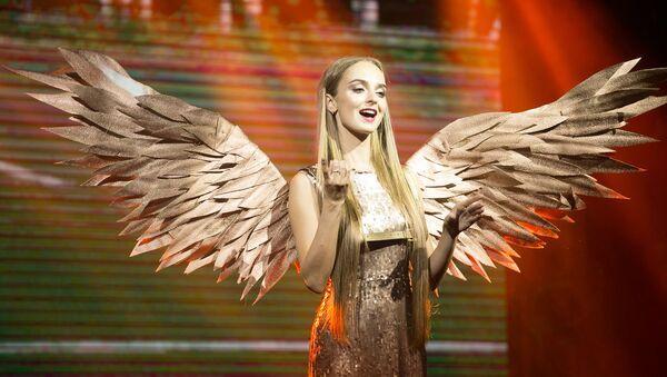 Belarus'taki  2018 Bahar Kraliçesi Güzellik Yarışması - Sputnik Türkiye