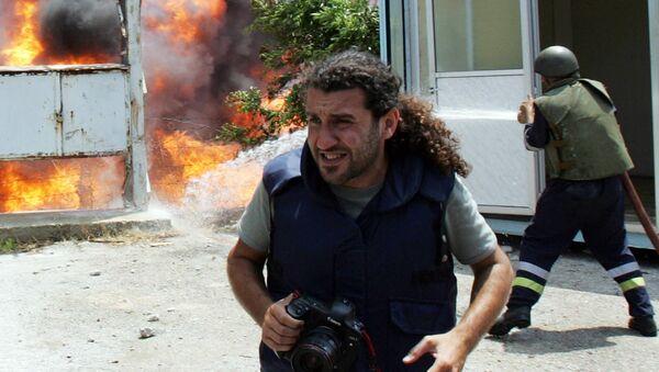 Riskli meslek olan fotoğraf muhabirliği - Sputnik Türkiye