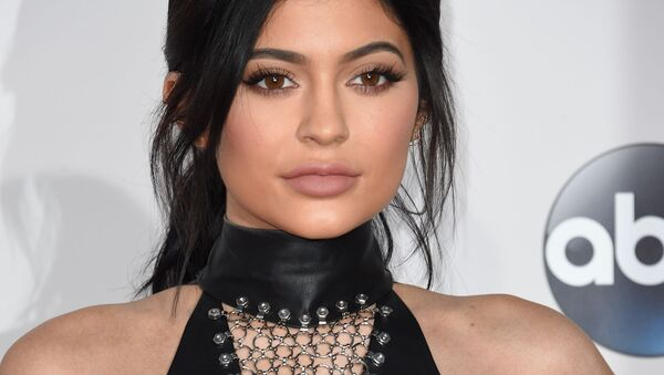 Kylie Jenner attends the 2015 American Music Awards at the Microsoft Theater at L.A. Live in Los Angeles, California. - Sputnik Türkiye
