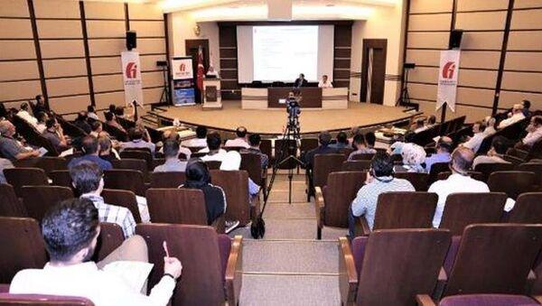 Gaziantep Ticaret Odası'nda Suriye uyruklu üyelere yönelik bilgilendirme semineri düzenlendi. - Sputnik Türkiye