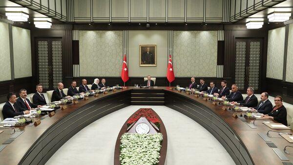 Cumhurbaşkanlığı Kabine Toplantısı - Sputnik Türkiye