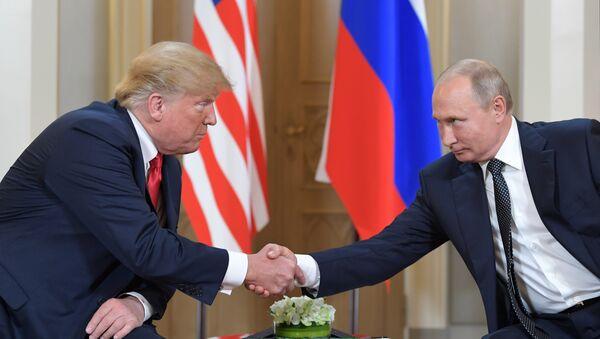ABD Başkanı Donald Trump- Rusya lideri Vladimir Putin - Sputnik Türkiye