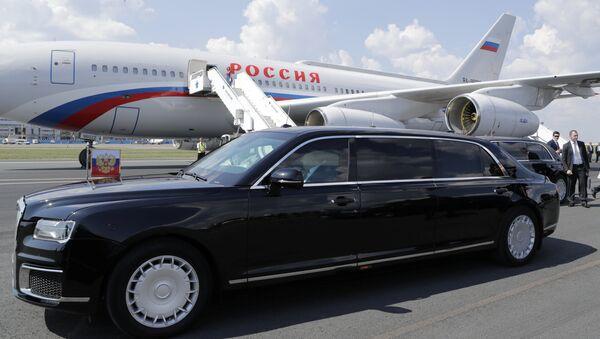 Putin'in limuzini - Sputnik Türkiye